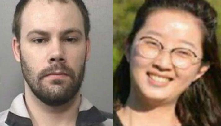 左:嫌犯克里斯滕森、右:章莹颖 图新宝gg娱乐登录福克斯新闻网